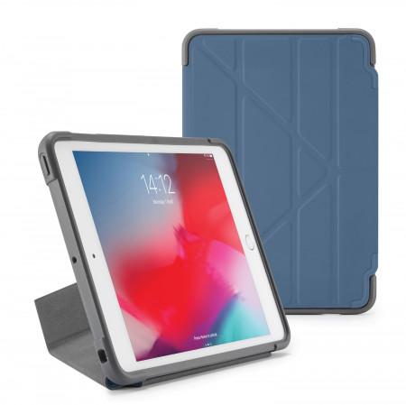 Pipetto iPad mini 5 / iPad mini 4 Origami Shield Case Navy - Front