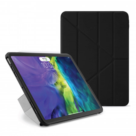 iPad Air 4 10.9 inch TPU Origami Case Black - Hero