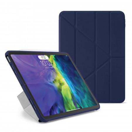 iPad Air 4 10.9 inch TPU Origami Case Dark Blue - Hero