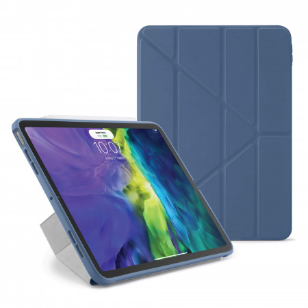 iPad Air 4 10.9 inch TPU Origami Case Navy - Hero
