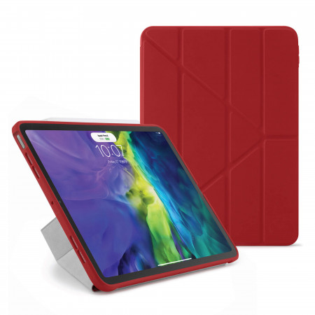 iPad Air 4 10.9 inch TPU Origami Case Red - Hero