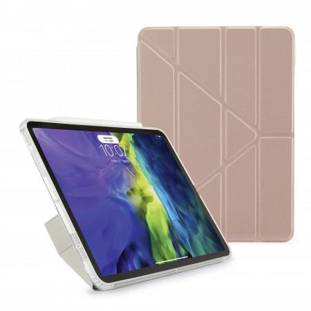 iPad Air 4 10.9 inch TPU Origami Case Rose Gold - Hero