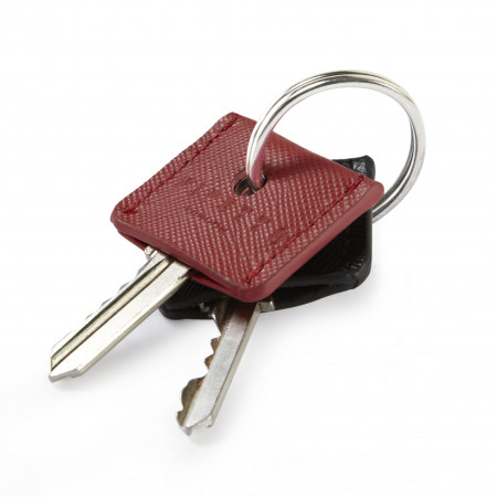 Key Cover Set - Red Black Saffiano