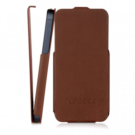 Brown Leather iPhone 5S Case