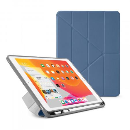 iPad 7th Generation Case 10.2 Cover Pencil Holder Navy - Hero Image