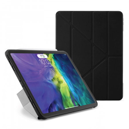 iPad Pro 11 2020 TPU Origami Case Black - Hero