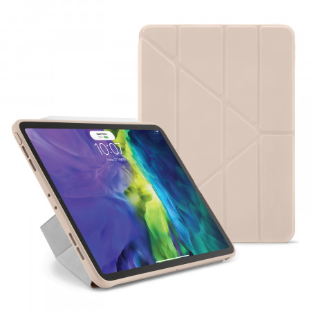 iPad Pro 11 2020 TPU Origami Case Dusty Pink - Hero