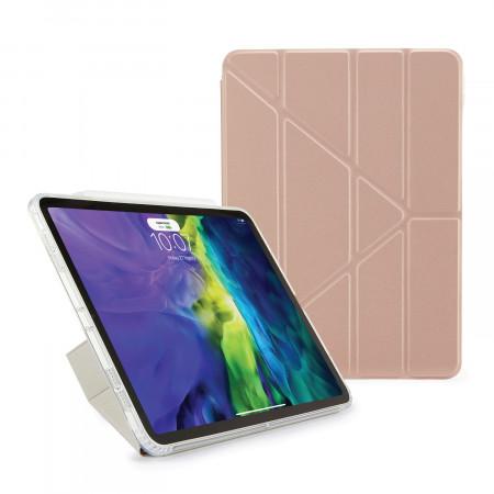 iPad Pro 11 2020 TPU Origami Case Rose Gold - Hero