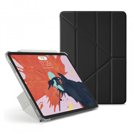 Pipetto 11-inch iPad Pro Origami Original - Black Luxe - Hero