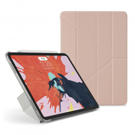 Pipetto 11-inch iPad Pro Origami Original - Dusty Pink Luxe - Hero