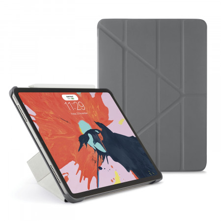 Pipetto 11-inch iPad Pro Origami Original - Grey - Hero