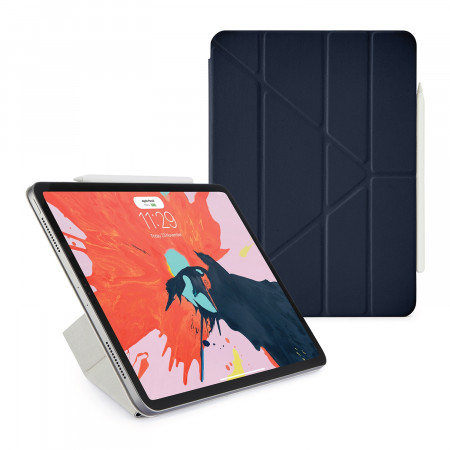 Pipetto 11-inch iPad Pro Origami Folio Navy - Hero