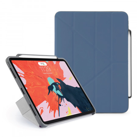Pipetto 11-inch iPad Pro Origami Pencil Navy - Hero
