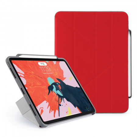 Pipetto 11-inch iPad Pro Origami Pencil Red - Hero