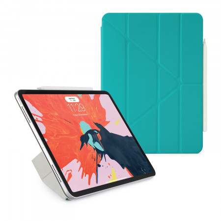 Pipetto 11-inch iPad Pro Origami Folio Turquoise - Hero