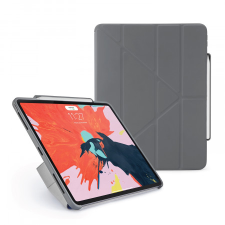 Pipetto 12.9-inch iPad Pro Origami Pencil Grey - Hero