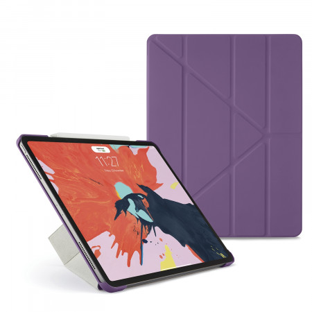 Pipetto 12.9-inch iPad Pro Origami Original - Purple - Hero