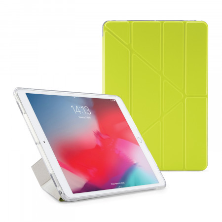 Pipetto iPad Air 10.5-inch and iPad Pro 10.5 TPU Luxe Case Pistachio and Clear - Front