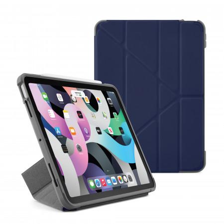 Pipetto iPad Air 10.9 Generation Dark Blue Origami Pencil Shield Case - Hero