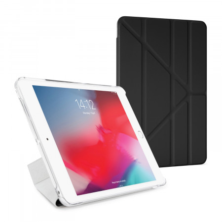 Pipetto iPad Mini 4 Origami Luxe Black - Front