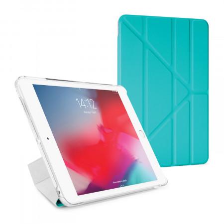 Pipetto iPad mini 5 / iPad mini 4 Origami Luxe Turquoise - Front