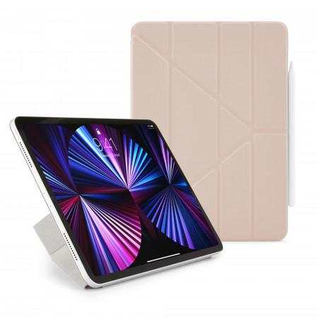 "iPad Pro 11 (1st, 2nd & 3rd Gen) & iPad Air 4 10.9"" Origami No4 Folio Case - Dusty Pink - Hero"