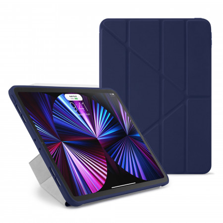 iPad Pro 11 Case Origami (1st, 2nd and 3rd Gen) - Dark Blue - Hero