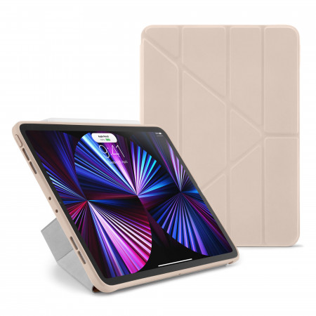 iPad Pro 11 Case Origami (1st, 2nd and 3rd Gen) - Dusty Pink - Hero