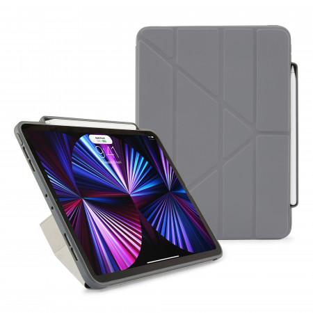 iPad Pro 11 (1st, 2nd & 3rd) Origami No3 Pencil Case - Dark Grey - Hero