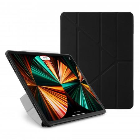 iPad Pro 12.9 (3rd, 4th & 5th) Origami No1 Original TPU Case - Black - Hero