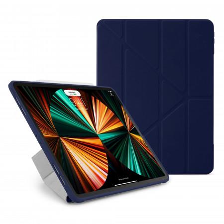 iPad Pro 12.9 (3rd, 4th & 5th) Origami No1 Original TPU Case - Dark Blue - Hero