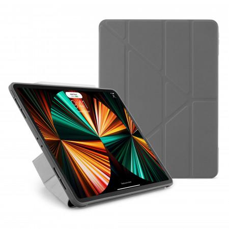 iPad Pro 12.9 (3rd, 4th & 5th) Origami No1 Original TPU Case - Dark Grey - Hero