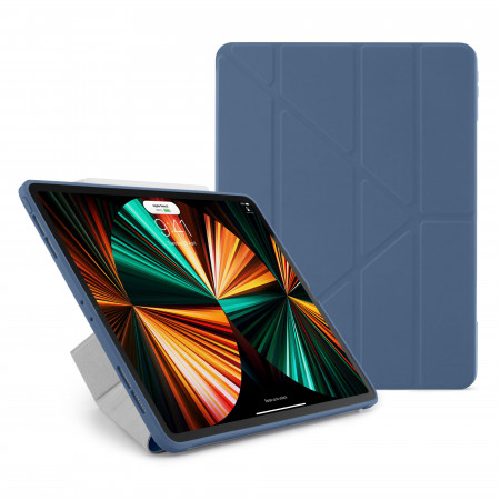 iPad Pro 12.9 (3rd, 4th & 5th) Origami No1 Original TPU Case - Navy - Hero
