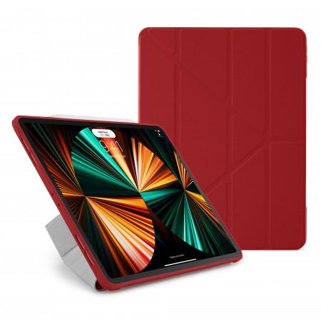 iPad Pro 12.9 (3rd, 4th & 5th) Origami No1 Original TPU Case - Red - Hero