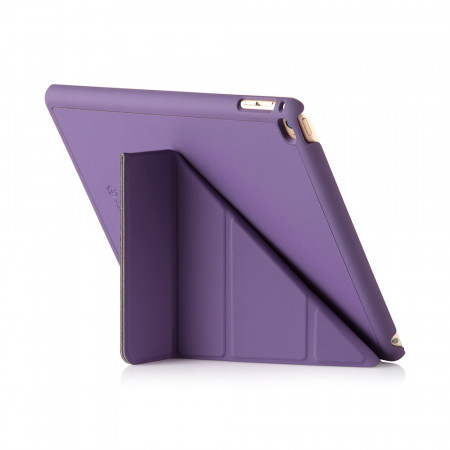iPad Air 2 Smart Case, Smart Cover Purple - back viewing angle