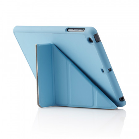 Pipetto iPad Mini Retina Case Cover Origami Smart Cover Smart Case Light Blue iPad Mini Case
