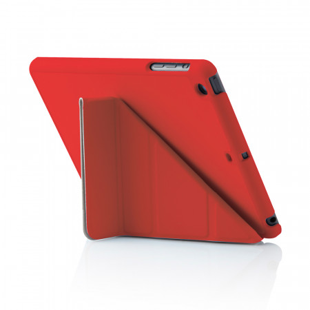 Pipetto iPad Mini Retina Case Cover Origami Smart Cover Smart Case Red iPad Mini Case