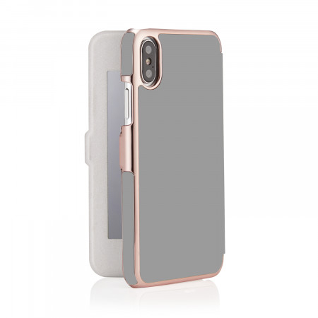 phone-X-silm-wallet-grey mirror-back-open