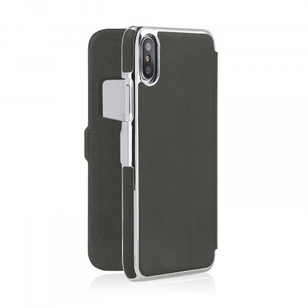 iphone-X-silm-wallet-grey-silver-back-open