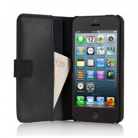 PIPETTO: iPhone 5 5S Leather Folio Wallet Cases & Covers
