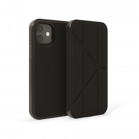 iPhone 12 / 12 Pro (6.1-inch) 2020 - Origami Folio Case - Black