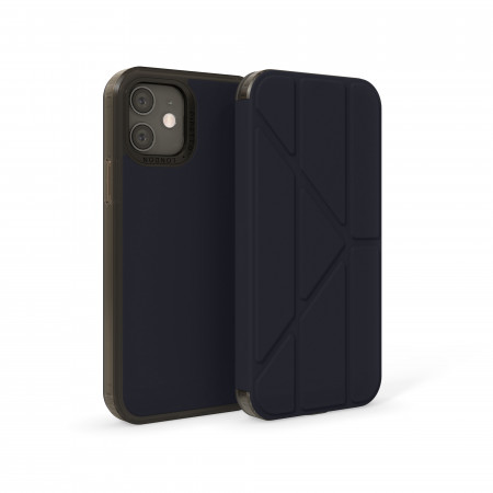 iPhone 12 / 12 Pro (6.1-inch) 2020 - Origami Folio Case - Dark Blue