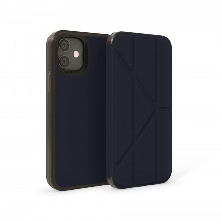 iPhone 12 (5.4)-Origami Folio-Dusty-dark-blue-overview