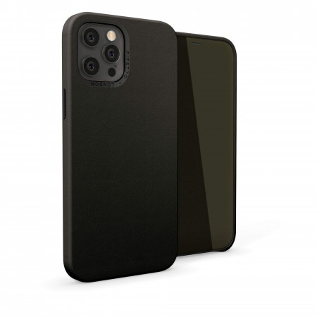 iPhone 12 (6.7)-Magnetic-Leather-black-overview