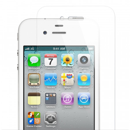 iPhone 4S Tempered Glass Screen Protector Toughened Glass Screen iPhone 4