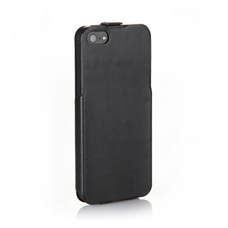 Black Leather iPhone 5S Case