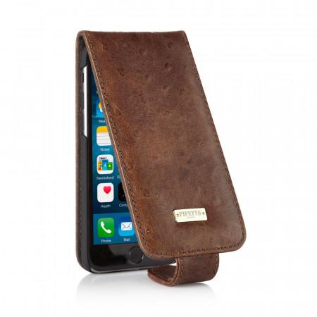 iPhone 6 / iPhone 6S Classic Flip Case - Ostrich