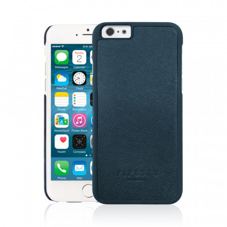 iPhone 6 / iPhone 6S Saffiano Snap Case - Navy Saffiano
