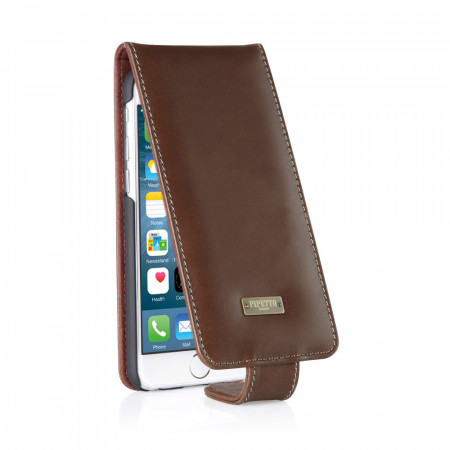 iPhone 6 / iPhone 6S Classic Flip Case Brown
