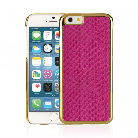 Pink iPhone 6 / iPhone 6S Exotic Snap Case - Pink Snakeskin